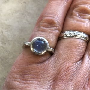Jewelry - Sterling Labradorite Ring Size 6